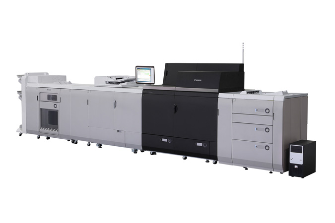 Canon imagePRESS C10000VP with PRISMAsync Color Print Server
