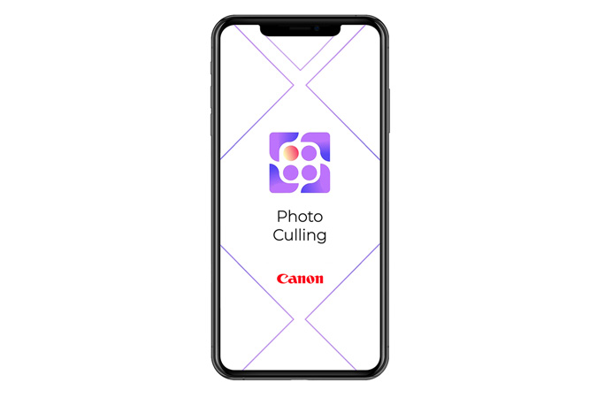Photo Culling App logo on Smartphone