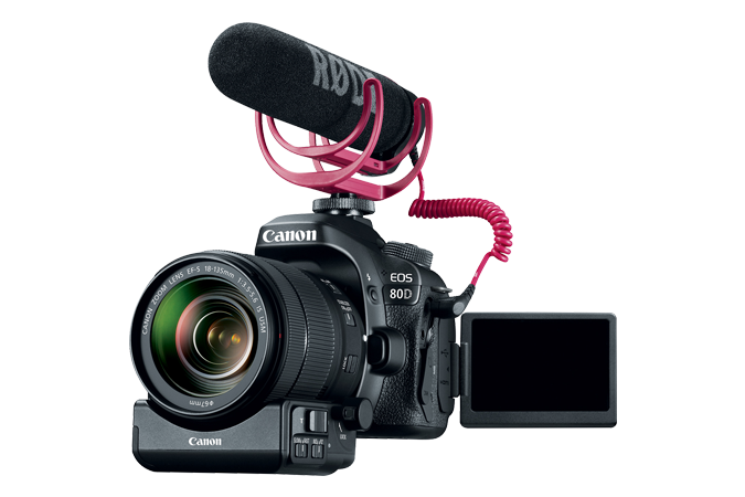 Support | DSLR | EOS 80D Video Creator Kit | Canon USA