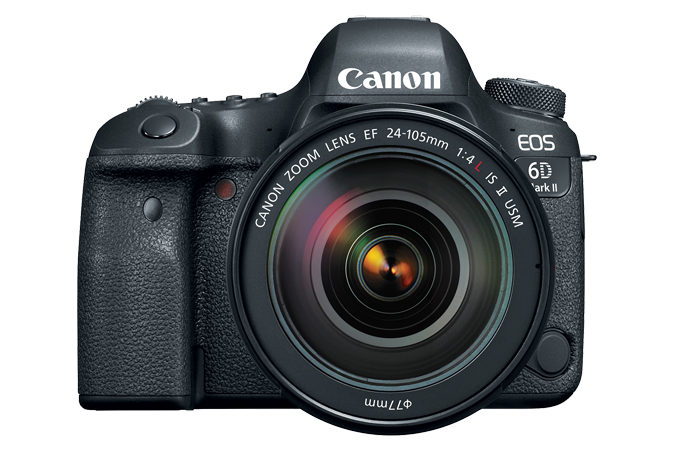EOS 6D Mark II Front with Lens