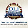Canon Color imageCLASS MF632Cdw - BLI Award for Winter 2018 Pick