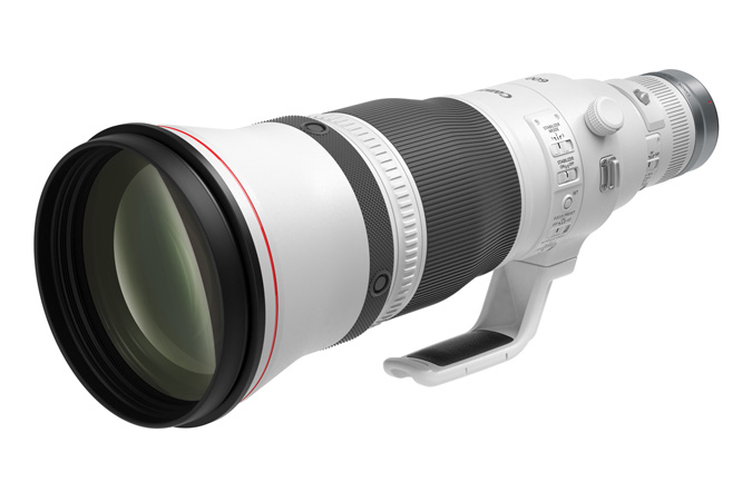 Canon RF600mm F4 L IS USM - Slant