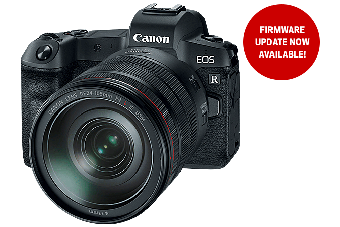 EOS R - firmware update coming soon