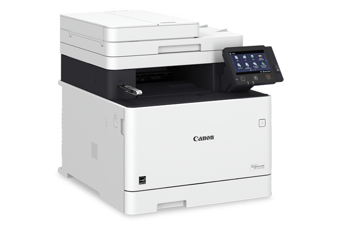 Color imageCLASS MF745Cdw multifunction laser printer - USB in port
