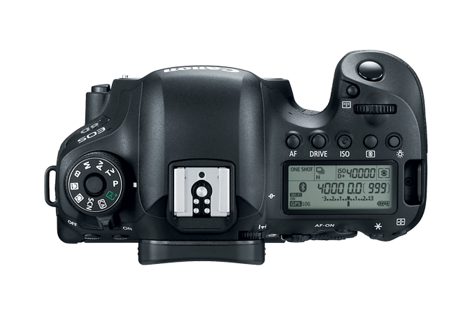 EOS 6D Mark II Top