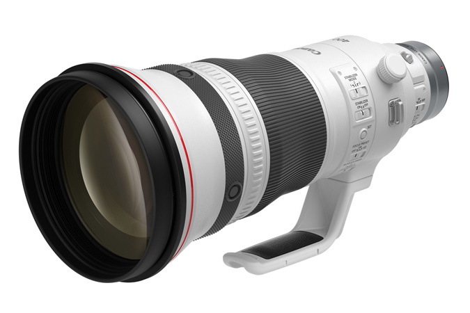 Canon RF400mm F2.8 L IS USM - Controls