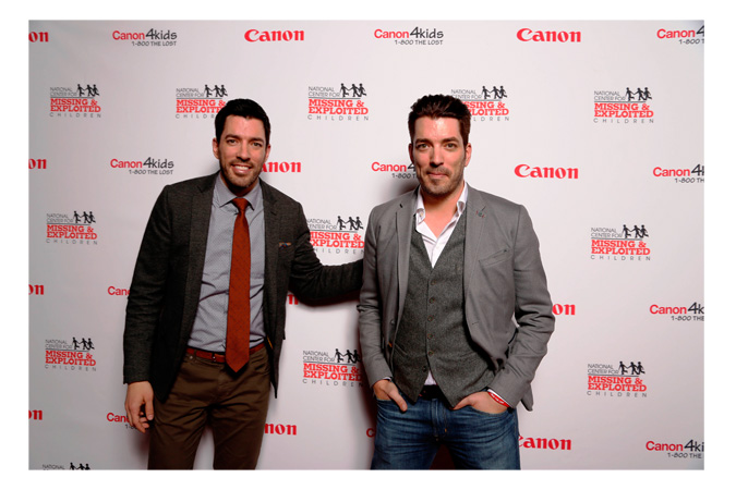 Jonathan and Drew Scott of the HGTV show Property Brothers