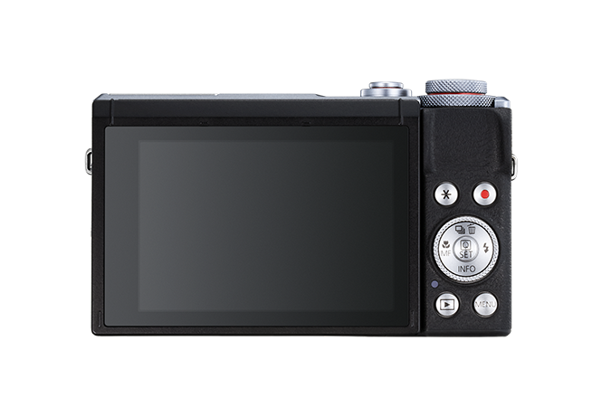 PowerShot G7 X Mark III Silver - back view