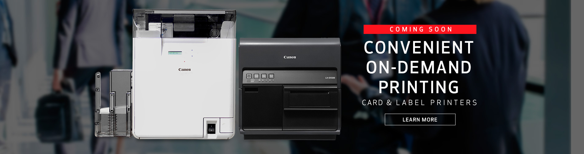 Convenient On-Demand Printing - Card & Label Printers