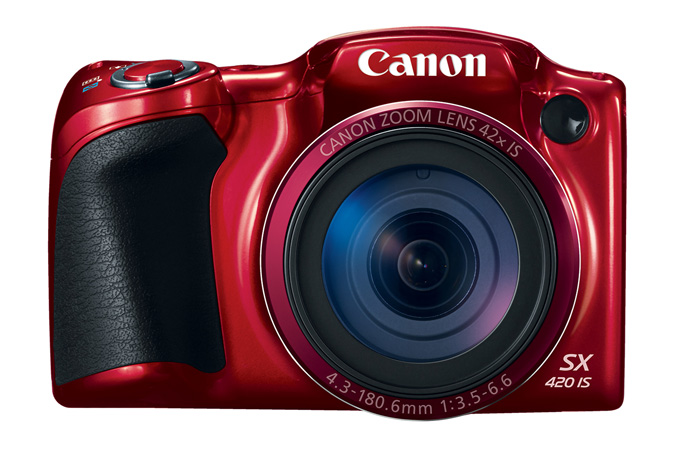 Powershot SX420IS in Red