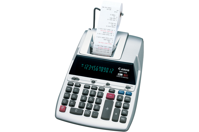 Canon mp11dx-2 printing calculator (pack of 1 ea) biclwholesalers.
