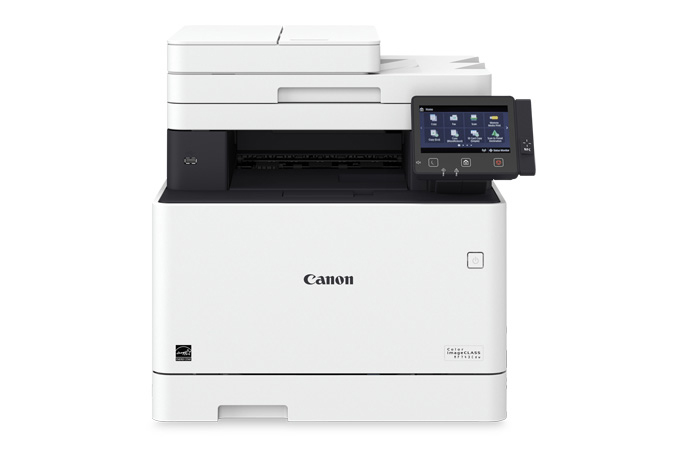 Color imageCLASS MF743Cdw multifunction laser printer - front view