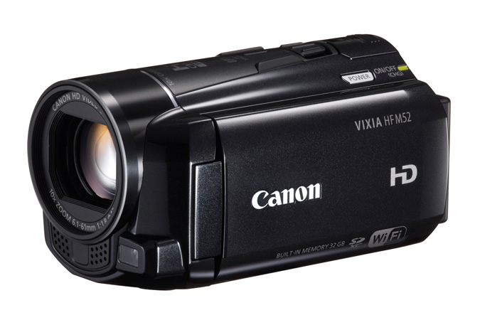 VIXIA HF M52 Flash Memory camcorder - 3/4 view closed