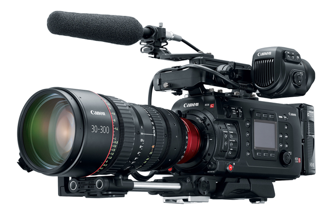 EOS C700 Microphone Attachment