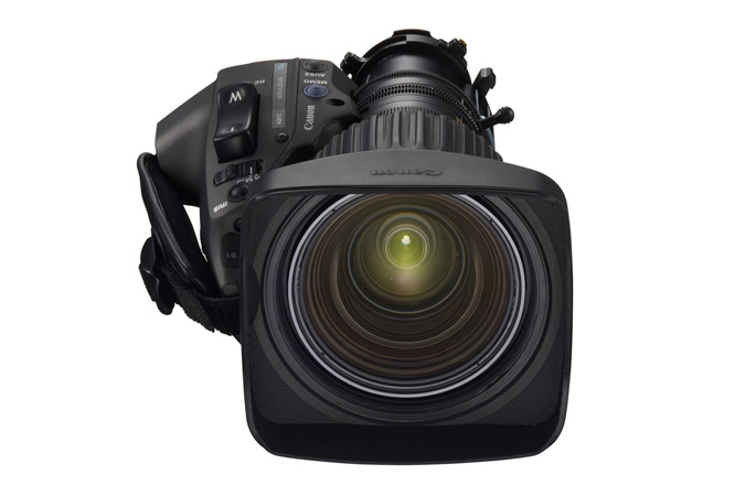 HJ17ex6.2B portable HD lens - front view