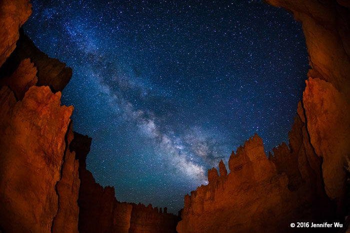 Canon See Impossible - Jennifer Wu - Bryce Canyon National Park fish-  eye
