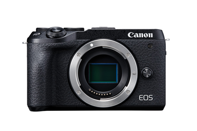 EOS M6 Mark II body only front