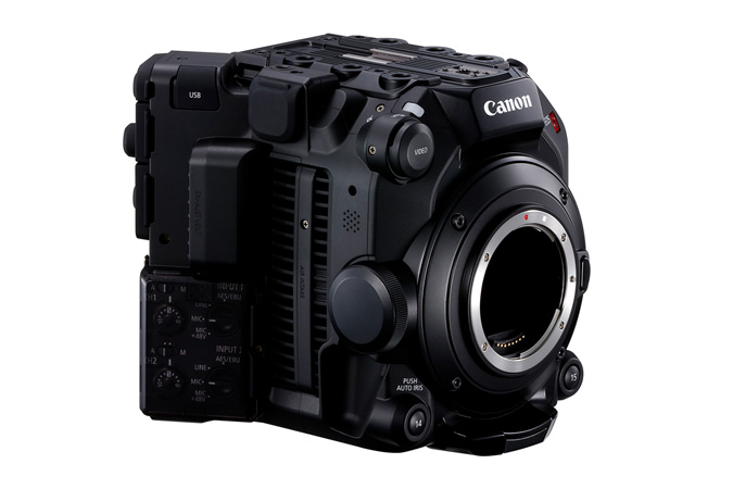 Canon C300 Mark III - Front Side Right