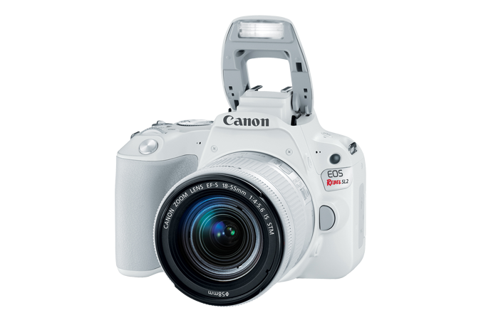 EOS Rebel SL2 White Open Flash