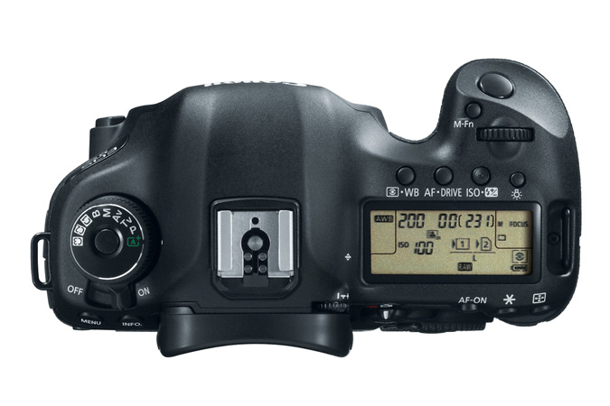 EOS 5D Mark III Body - Top View