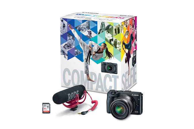 EOS M3 EF-M 18-55mm IS STM Video Creator Kit