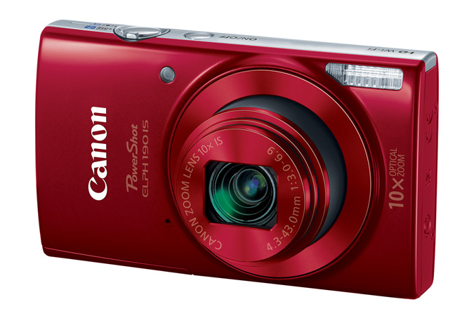 Powershot ELPH 190 IS in Red
