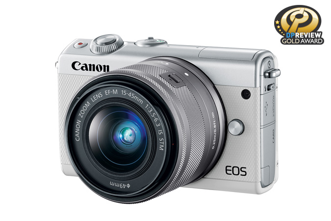 EOS M100 EF-M 15-45mm IS STM White Lens Kit