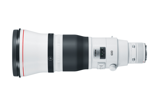 EF 600mm f/4L IS III USM (Side View)
