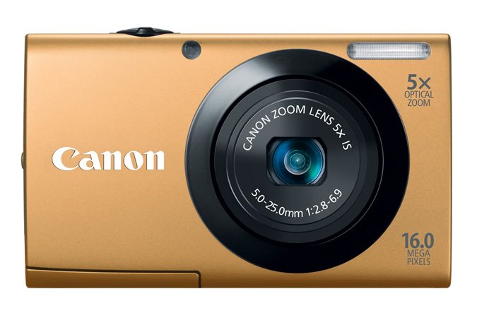 PowerShot A3400 IS digital camera in Gold