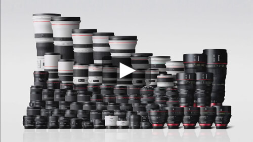It All Begins With Glass: Canon Glass First