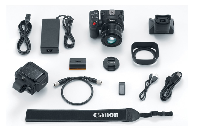 XC15 4K Video Camcorder kit