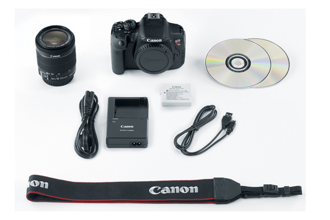how to connect canon 700d to iphone