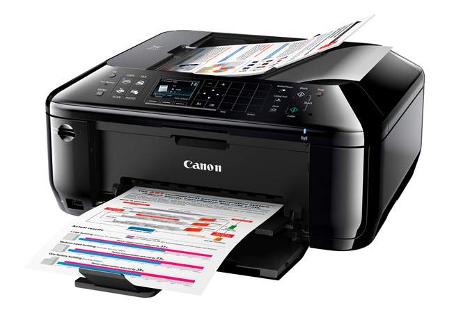 PIXMA MX512 Office All-In-One Printer - 3/4 view