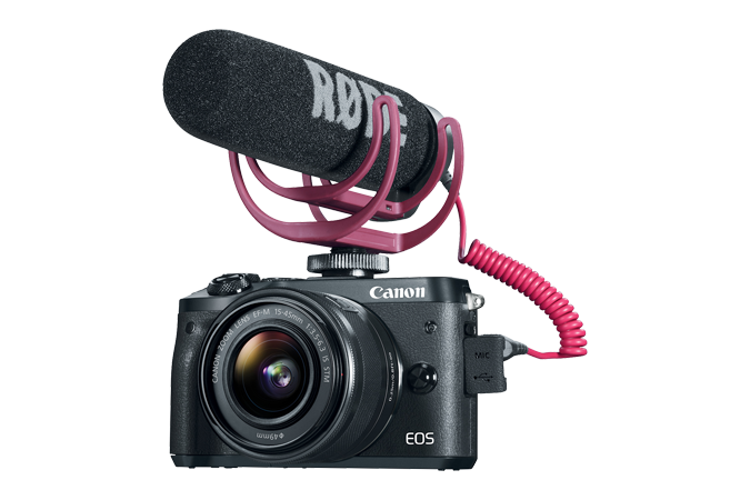 EOS M6 Video Creator Kit