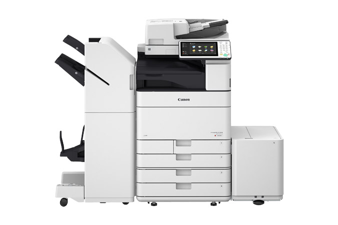Canon imagerunner advance c5500 series office colour printers.