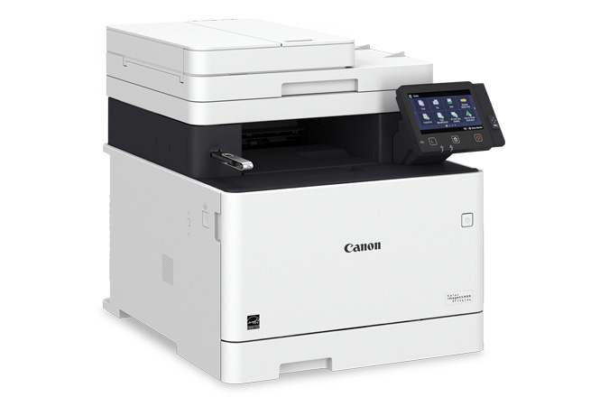 Color imageCLASS MF746Cdw multifunction laser printer - USB in port