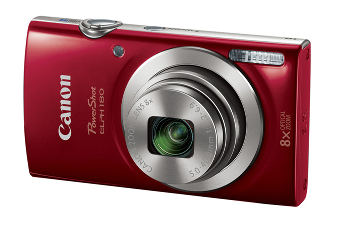 Powershot ELPH 180 in Red