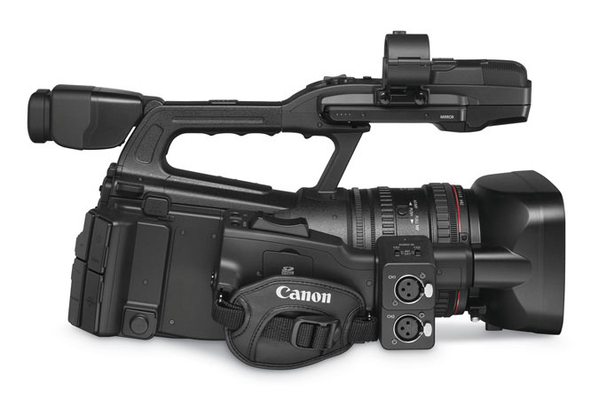 XF300 Professional Camcorder - right view