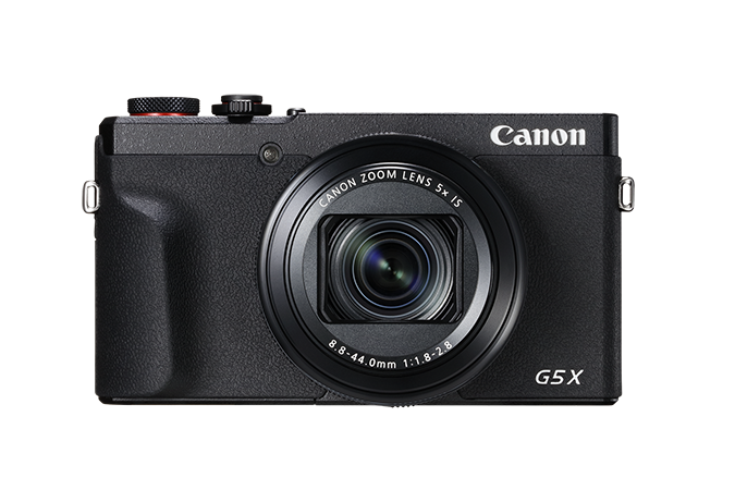 PowerShot G5 X Mark II - front view