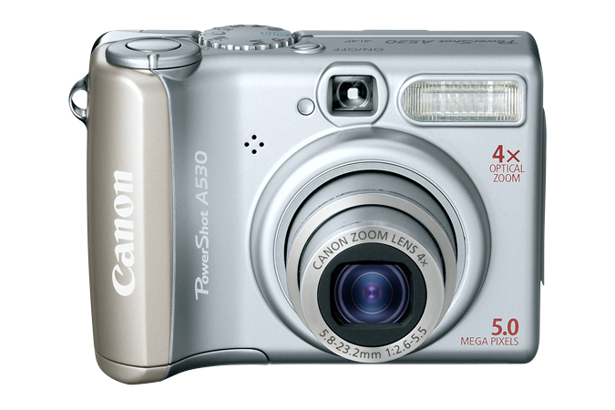 Canon Powershot A530 Download Software