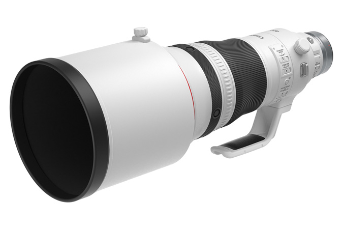 Canon RF600mm F4 L IS USM - Long Lens Hood