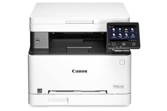 Color imageCLASS MF641Cw multifunction laser printer - front view