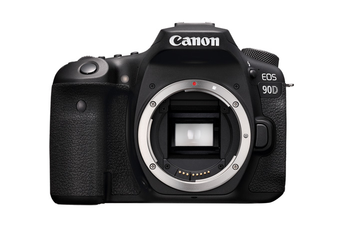 EOS 90D front body only
