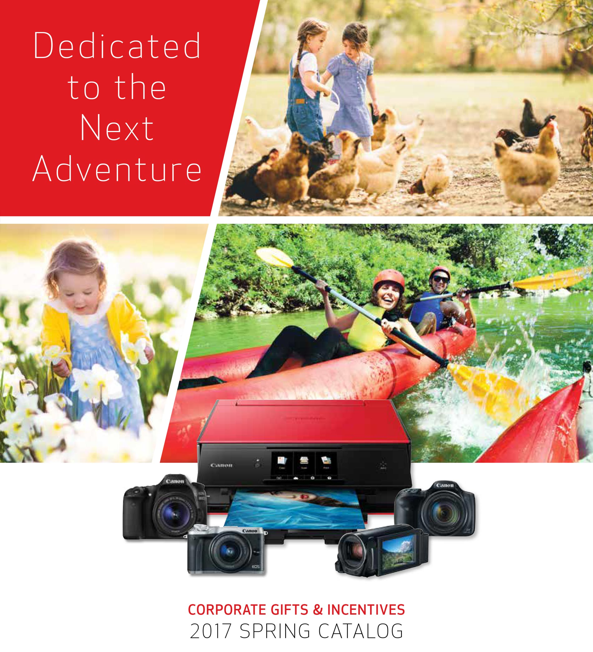 Canon Corporate Gifts & Incentives 2017 Spring Catalog Cover