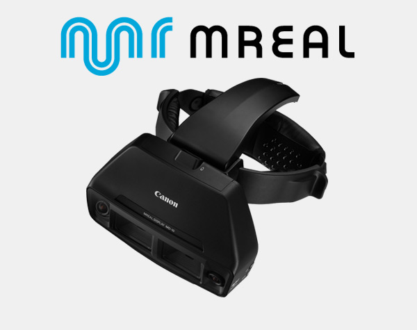 MREAL Logo and Headset