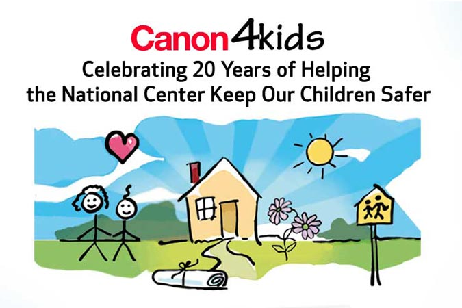 Canon Celebrating 20 Years of Sponsorship with NCMEC
