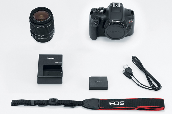 DSLR | EOS Rebel T6 EF-S 18-55mm IS II Kit | Canon USA