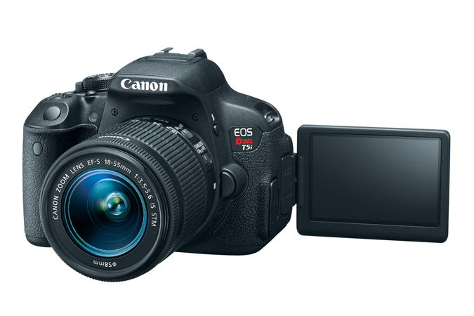how to connect canon rebel t5i to wifi