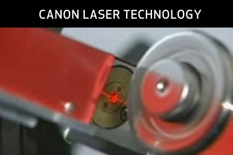 Canon Laser Technology video