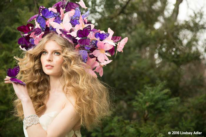 Lindsay Adler - Butterfly Fantasy - Before Post Production